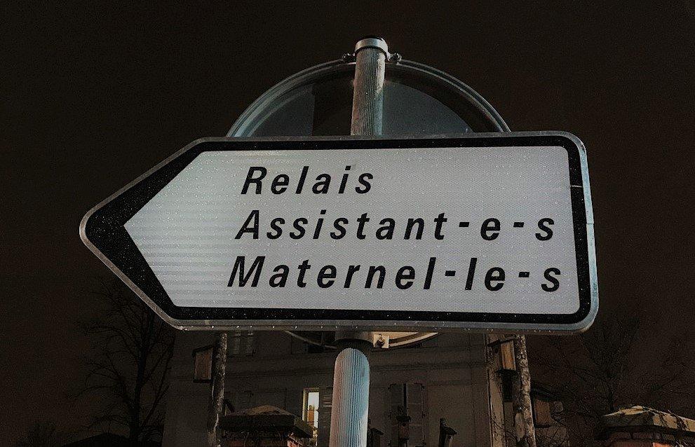Signalisation féministe : Relais assitant.e.s maternel.le.s