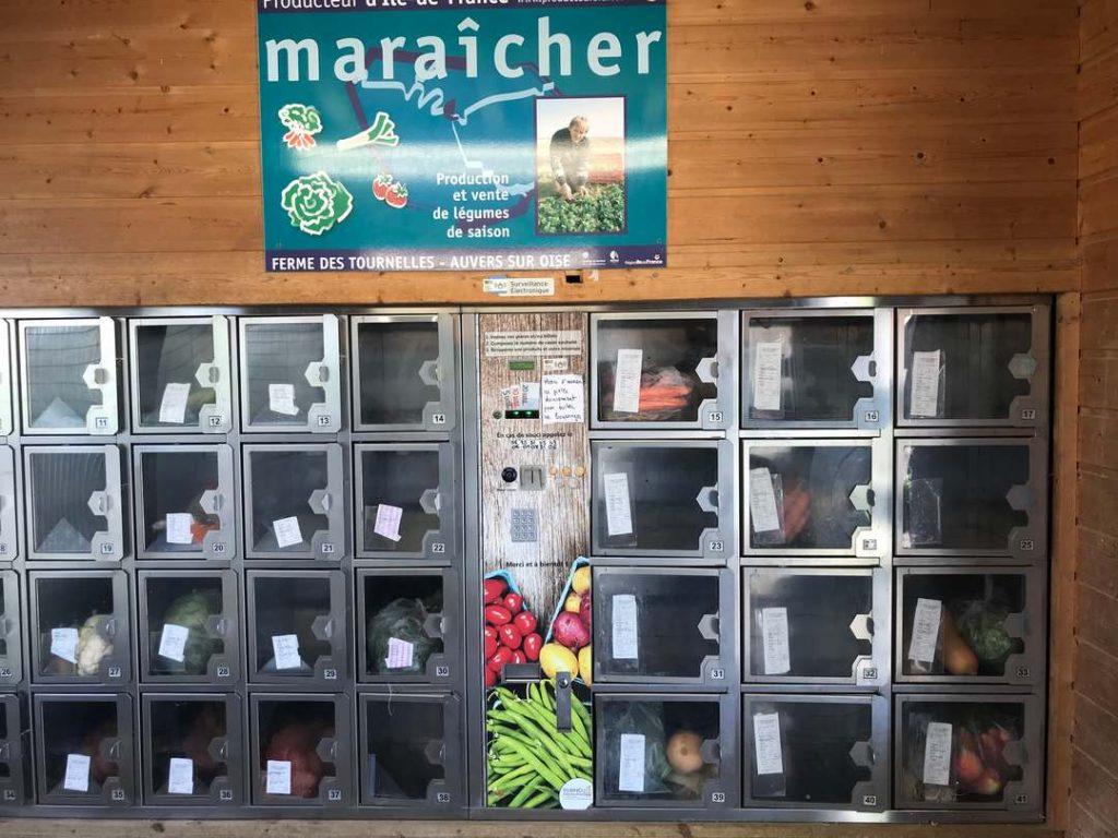 distributeurs automatiques de légumes