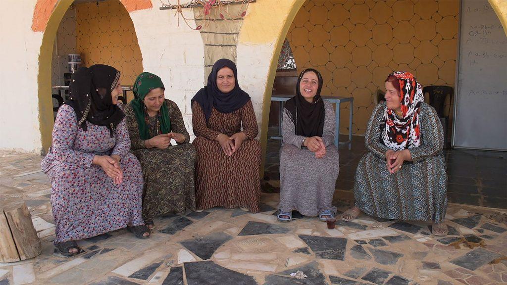 Assemblée de femmes kurdes