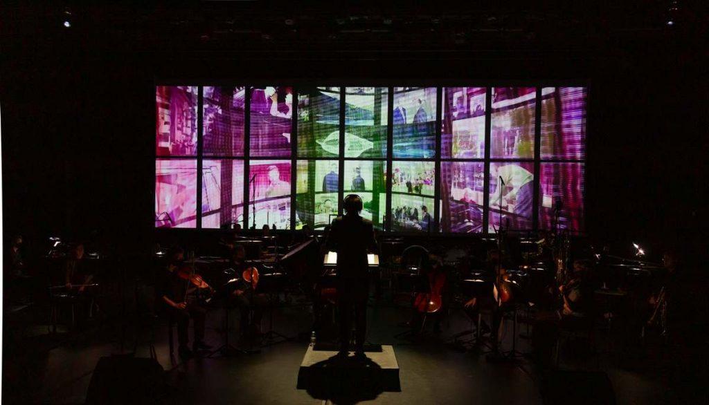 Concert : orchestre et projection d'images