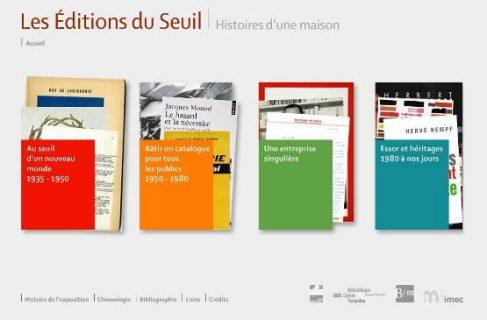 page d'accueil de l'exposition