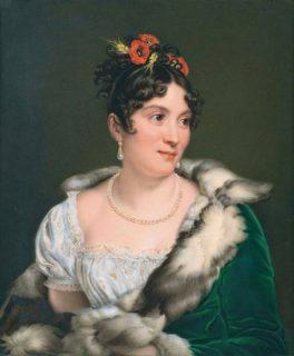 Portrait de Mademoiselle Mars d'après le tableau de Gérard
