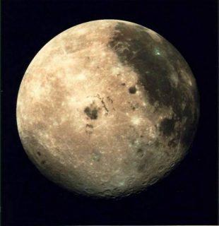 photographie de la lune