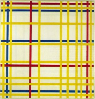 Tableau de Mondrian