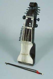 le sarangi, instrument de musique