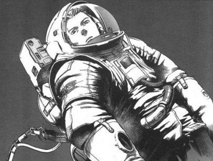 Dessin de cosmonaute