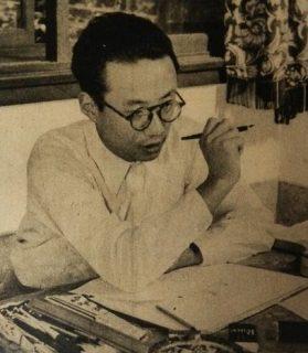 Portrait de Osamu Tezuka