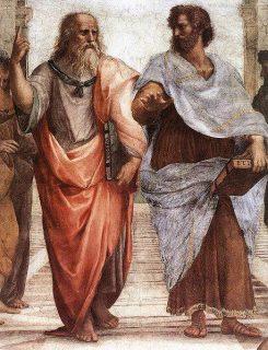 L'école d'Athènes, détail, Raphaël