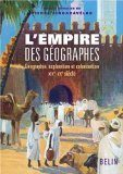 Couverture L'Empire des géographes