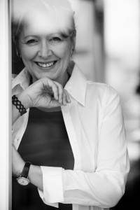 Portrait noir et blanc d'Helena Trestikova