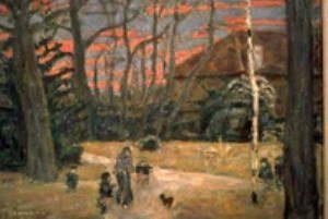 Soir de Noël, Pierre Bonnard