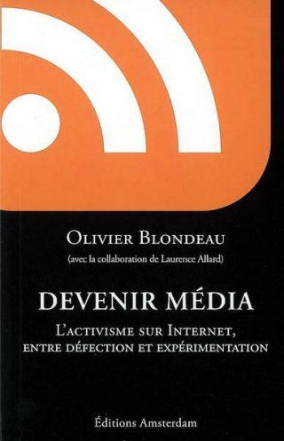 Couverture du livre Devenir média