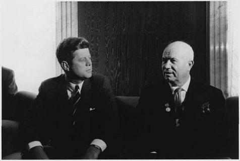 Photo : Kennedy et Khrouchtchev