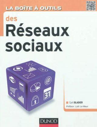 couverture de l'ouvrage La Boite à outils des réseaux sociaux