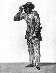 gravure représentant Trivelin