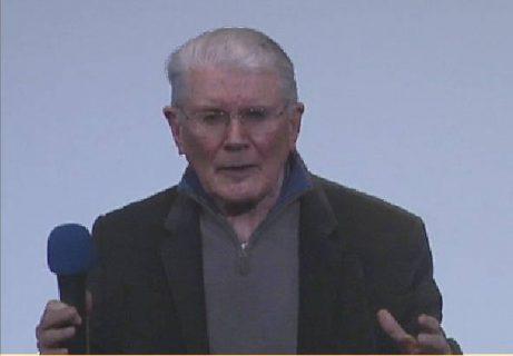 René Passet en conférence