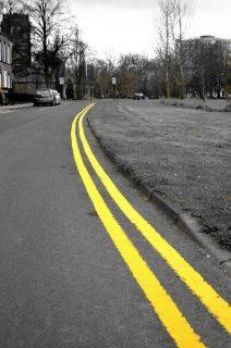 Photo d'une route