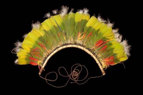 diadème de plume