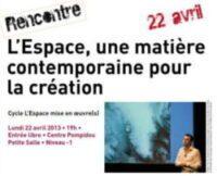 L'Espace : mise en oeuvre(s)