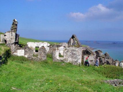 photographie de Great Blasket island