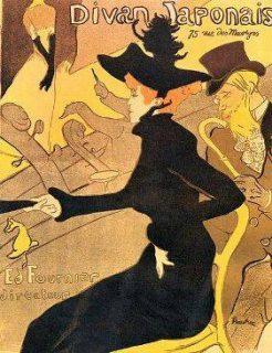 Le Divan japonais, par Henri de Toulouse-Lautrec