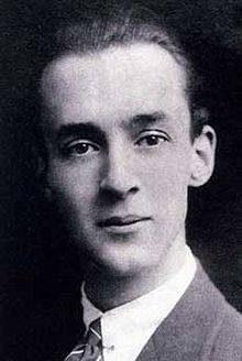 Portrait photographique en noir et blancde Nabokov