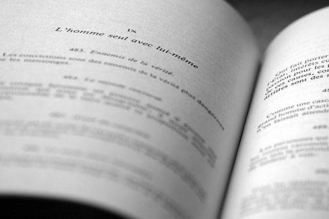 Aperçu d'une page de livre : citations du philosophe Nietzsche
