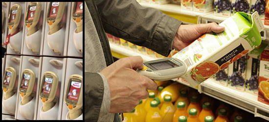 Des scannettes automatiques pour calculer son panier soi-même