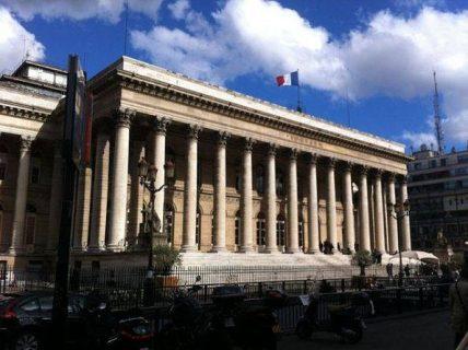 Photographie du Palais Brongniart