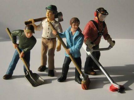 Figurines du monde du travail