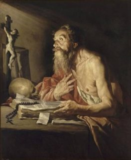 Saint Jérome de Matthias Stomer
