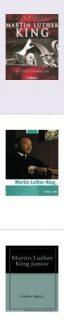 Sélection de livres sur Martin Luther King au catalogue