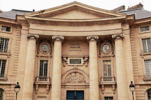 La faculté de droit, Paris