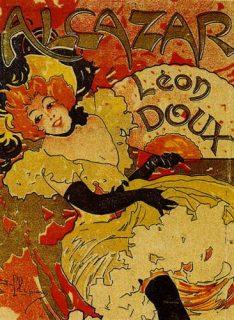 Affiche de l'Alcazar, Marseille 1920