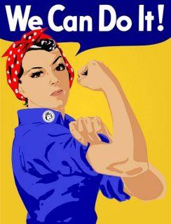 représentation de l'émancipation des femmes : Yes we can