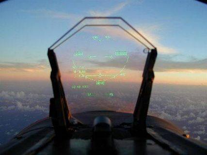 vue intérieure d'un cockpit d'avion