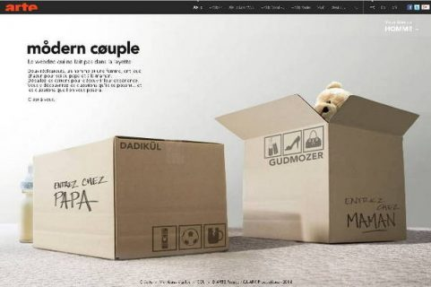 image extraite du webdoc Modern Couple