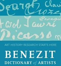 logo du Benezit Dictionary (Oxford Art Online)