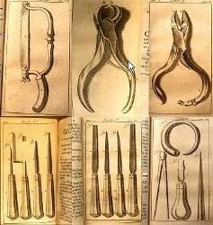 instruments de chirurgien