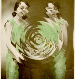 Photographie ancienne de Marguerite Duras