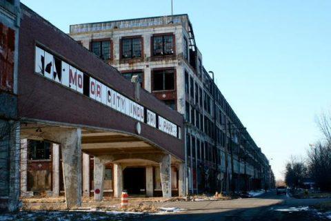 ruines de l'usine Packard, Detroit