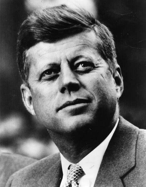 Portrait officiel du président John Fitzgerald Kennedy