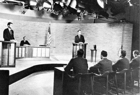 Débat télévisé entre les candidats Kennedy et Nixon, septembre 1960