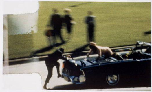 Photogramme du film Zapruder, novembre 1963