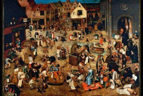 Combat de Carnaval et Carème de Brueghel