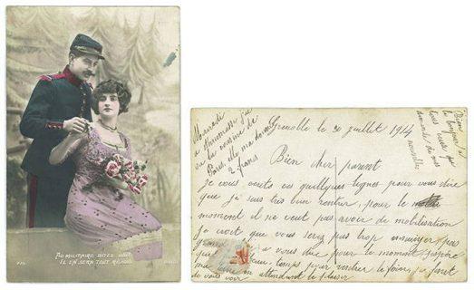 Cartes postales de la guerre 1914-1918