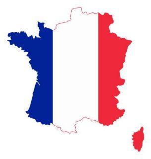 dessin de France tricolore