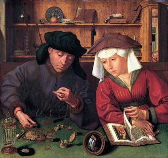 Le banquier et sa femme, Marinus Van Reylerswaele