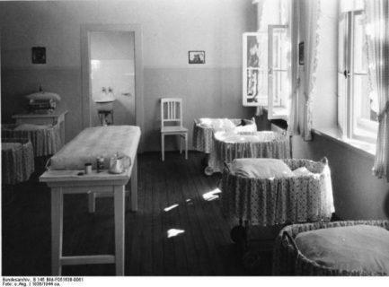 Photo d'un Lebensborn de 1936