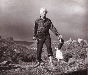 Photo de Max Ernst et de Dorothea Tanning